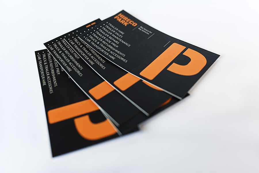 business card printing services in dublin
