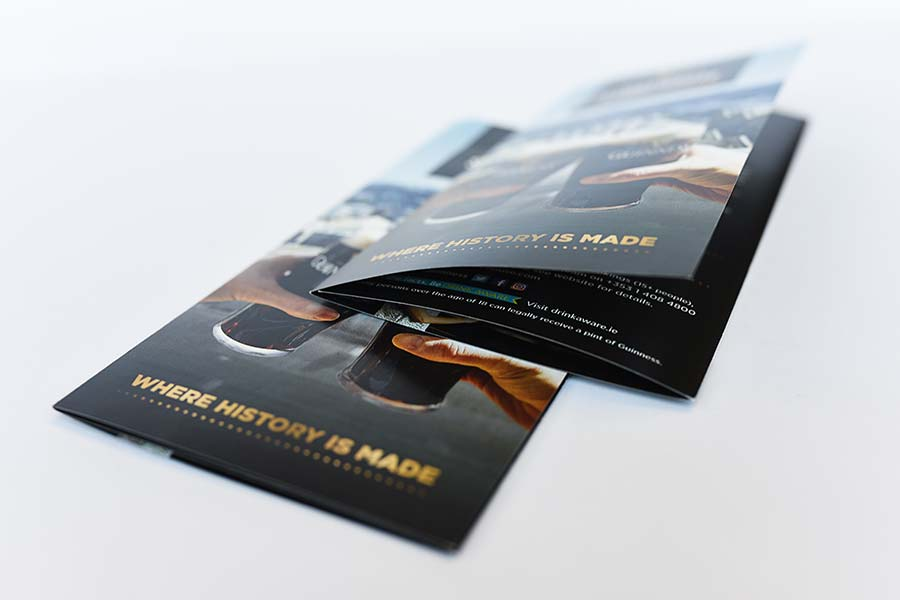 trifold leaflet printing example