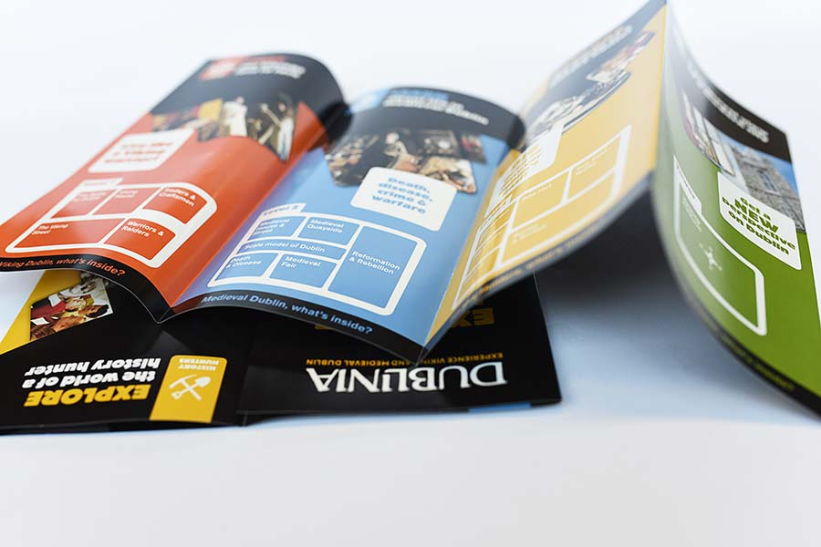 trifold printing example